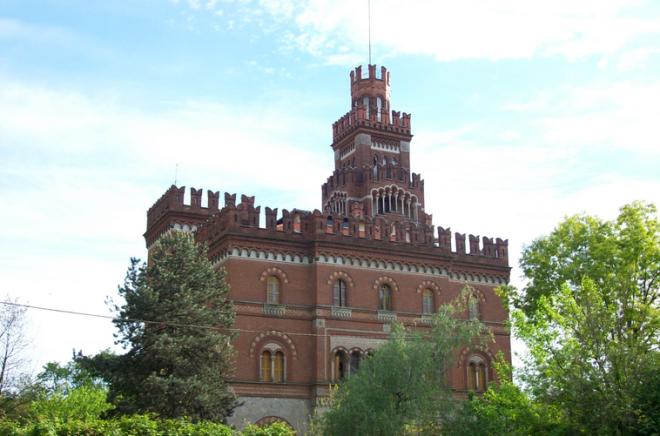 Il castello, Crespi d'Adda