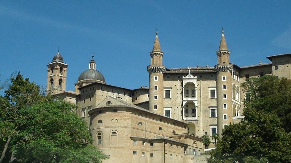 Il Palazzo Ducale a Urbino