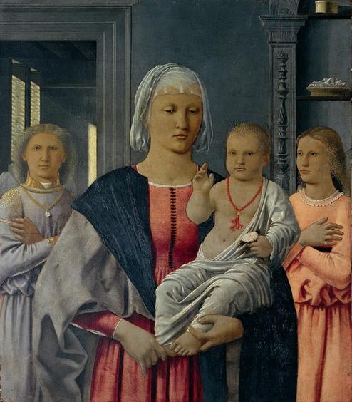 Madonna di Senigallia, opera di Piero della Francesca