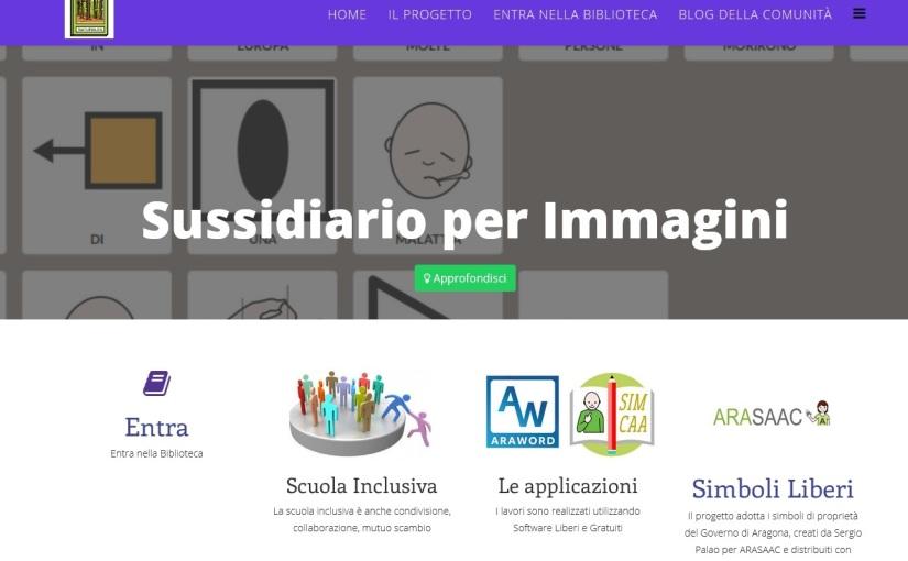 """""""Sussidiario per immagini"""", esempio di Comunicazione Aumentativa eAlternativa"""